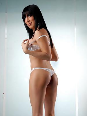 Victoria posing her super hot body