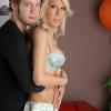 Sexy Victoria di Prada in hot oral sex with a dude